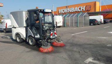 maturare semiumeda mecanizata a spatiului exterior – parcare – hornbach balotesti – handyman international