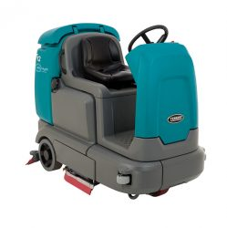 T12 Compact Battery-Powered Rider Scrubber | Tennant Scrubbers